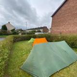 Tent in Garden